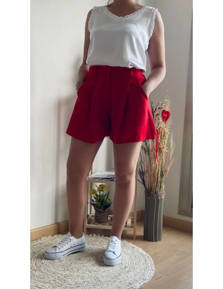Short Mia Rojo